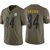 Nike Men's Home Limited Salute to Service Pittsburgh Steelers Antonio Brown #84 Jersey