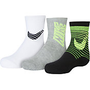 Nike Kids' Graphic Crew Socks 3 Pack