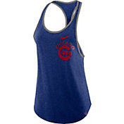 Nike Women's Chicago Cubs Tri-Blend Tank Top