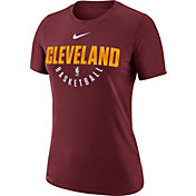 Nike Women's Cleveland Cavaliers Dri-FIT Burgundy Practice T-Shirt