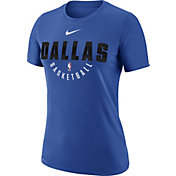 Nike Women's Dallas Mavericks Dri-FIT Royal Practice T-Shirt