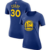 Nike Women's Golden State Warriors Stephen Curry #30 Dri-FIT Royal T-Shirt