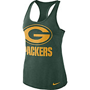 Nike Women's Green Bay Packers Dri-FIT Performance Green Tank Top