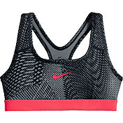 Nike Girls' Classic Tempest Printed Sports Bra