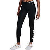 Nike Women's Pro Warm Bumper Sticker Tights