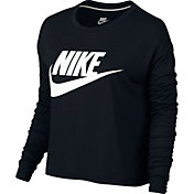 Nike Women's Sportswear Long Sleeve Crop Top