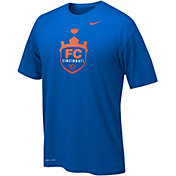 Nike Youth FC Cincinnati Dri-FIT Legend 2.0 Logo Royal Short Sleeve T-Shirt