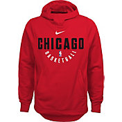 Nike Youth Chicago Bulls Therma-FIT Red Practice Performance Hoodie