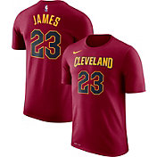 Nike Youth Cleveland Cavaliers LeBron James #23 Dri-FIT Burgundy T-Shirt