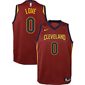 Nike Youth Cleveland Cavaliers Kevin Love #0 Burgundy Dri-FIT Swingman Jersey