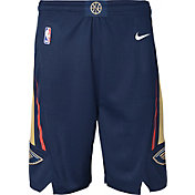 Nike Youth New Orleans Pelicans Dri-FIT Navy Swingman Shorts