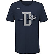 Nike Youth Detroit Pistons Dri-FIT City Edition Logo T-Shirt
