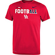 Nike Youth Houston Cougars Red FootbALL Sideline Legend T-Shirt