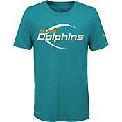 Nike Youth Miami Dolphins Legend Icon Performance Aqua T-Shirt