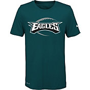 Nike Youth Philadelphia Eagles Legend Icon Performance Green T-Shirt