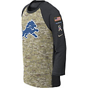 Nike Youth Detroit Lions Salute to Service 2017 Raglan