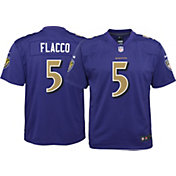 Nike Youth Color Rush Game Jersey Baltimore Ravens Joe Flacco #5