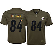 Nike Youth Home Limited Salute to Service Pittsburgh Steelers Antonio Brown #84 Jersey