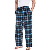 Concepts Sport Men's Carolina Panthers Huddle Flannel Pants