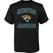 '47 Youth Jacksonville Jaguars Gridiron Hero Black T-Shirt