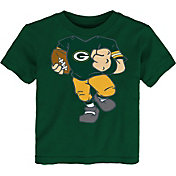 NFL Team Apparel Toddler Green Bay Packers Dream Football T-Shirt