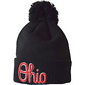 OSU Men's Ohio State Buckeyes Black Home Script Cuffed Knit Beanie