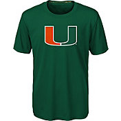 Gen2 Youth Miami Hurricanes Green Carbon T-Shirt