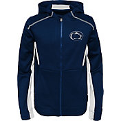 Gen2 Youth Penn State Nittany Lions Blue Hi-Tech Full-Zip Hoodie