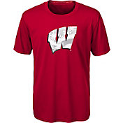 Gen2 Youth Wisconsin Badgers Red Carbon T-Shirt