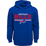 NFL Team Apparel Youth Buffalo Bills MVP Royal Pullover Hoodie