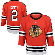 NHL Youth Chicago Blackhawks Duncan Keith #2 Replica Home Jersey
