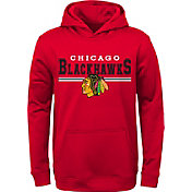 NHL Youth Chicago Blackhawks MVP Red Pullover Hoodie
