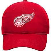 NHL Youth Detroit Red Wings Basic Structured Adjustable Red Hat