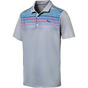 PUMA Men's Sportstyle Road Map Golf Polo
