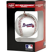 Rawlings Atlanta Braves Baseball Ornament