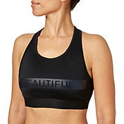 Reebok Women's Beautiful Graphic Pocket Sports Bra