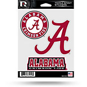 Rico Alabama Crimson Tide Triple Spirit Stickers