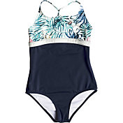 Roxy Girls' Blingbling Surf One Piece Swimsuit