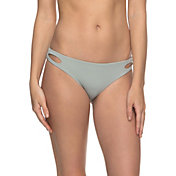 Roxy Women's Softly Love Reversible Scooter Bikini Bottoms