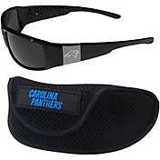 Carolina Panthers Wrap Sunglasses and Sport Case