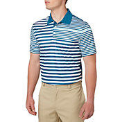 Slazenger Men's Mineral Spliced Stripe Golf Polo