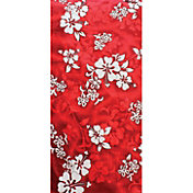 Sola Red Hibiscus Beach Towel