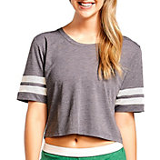 Soffe Women's Squad Mesh Cropped T-Shirt