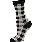 SOREL Women's Buffalo Plaid Crew Socks