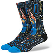Stance Golden State Warriors Stephen Curry Sketchbook Crew Socks