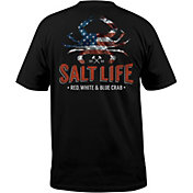 Salt Life Men's American Crab T-Shirt