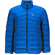 Spyder Men's Geared Full Zip Synthetic Down Jacket