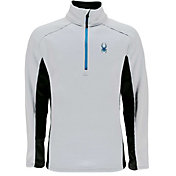 Spyder Men's Outbound Half Zip Mid-Weight Pullover