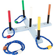 Hey! Play! Rope Ring Toss Game