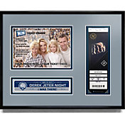 New York Yankees Derek Jeter Jersey Retirement Photo and Ticket Frame